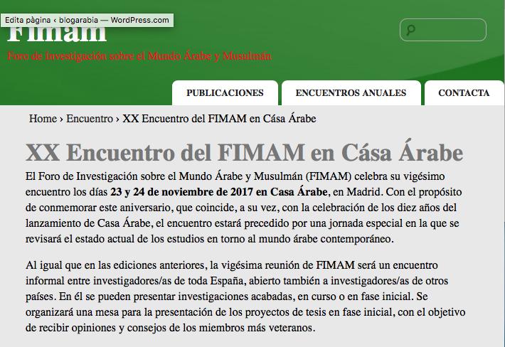 FIMAM
